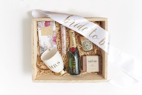 bride to be gift box hamper inclusions