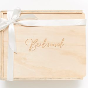 bridesmaid keepsake gift box