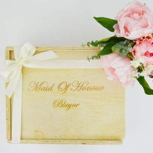 maid of honour custom engraved