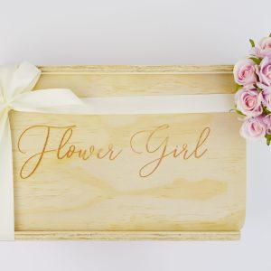 flower girl gift box