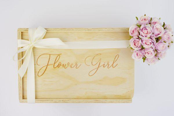 flower girl gift box