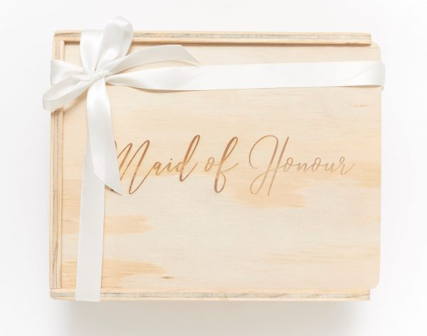 maid of honour gift box keepsake