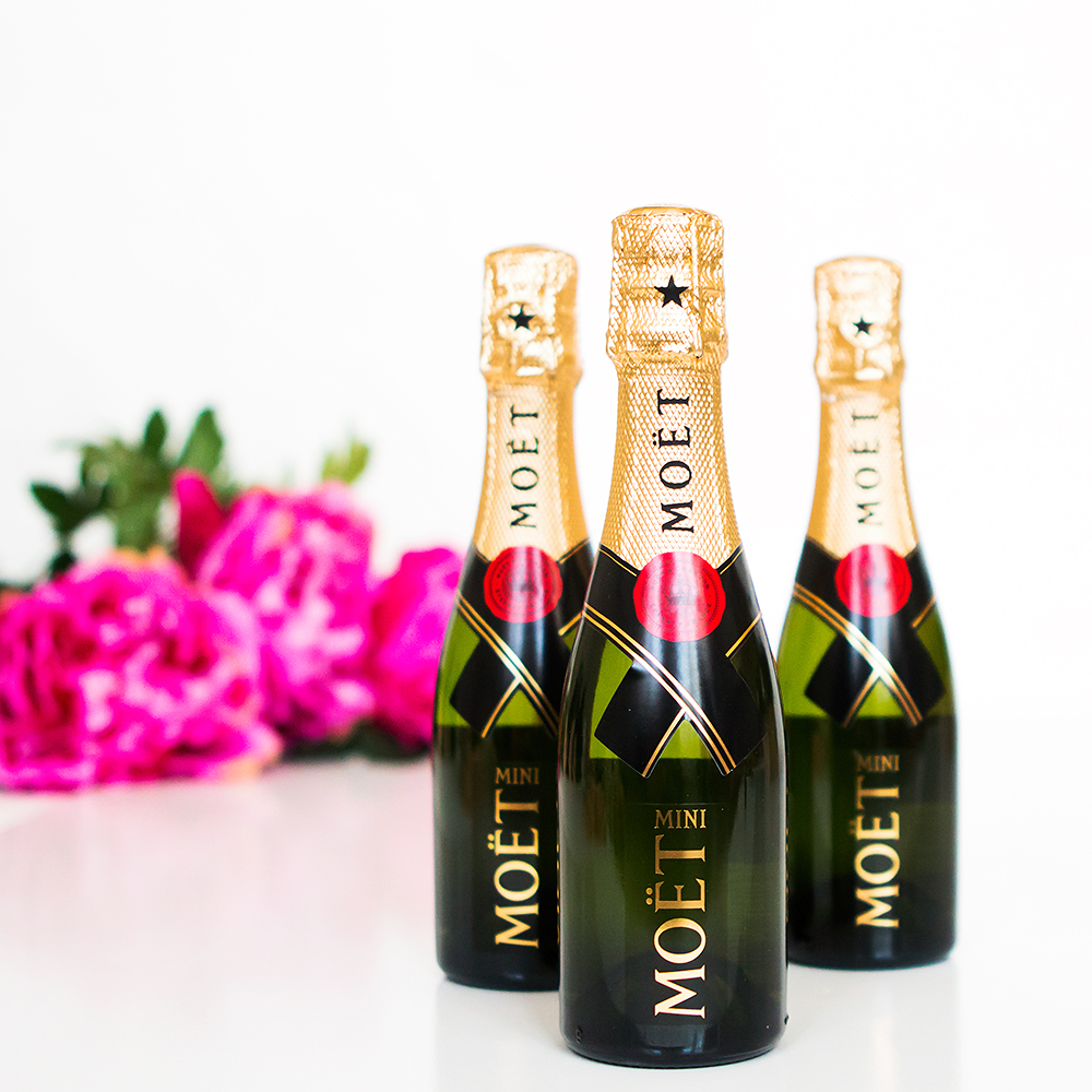 Mini Moet Bottles