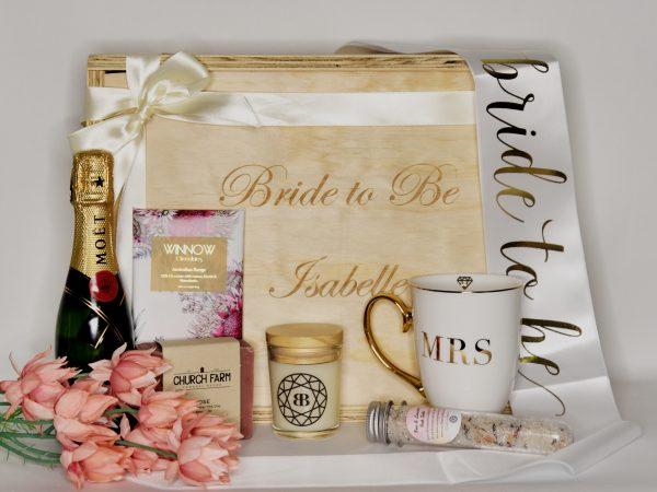 bride to be gift hamper
