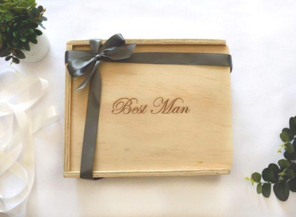 best man gift box