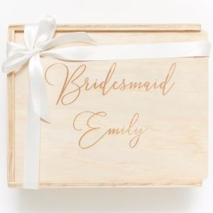 bridesmaid custom engraved