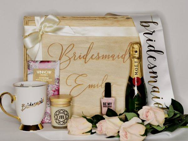 bridesmaid gift hamper