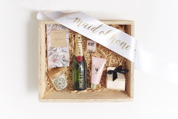 maid of honour gift box inclusions