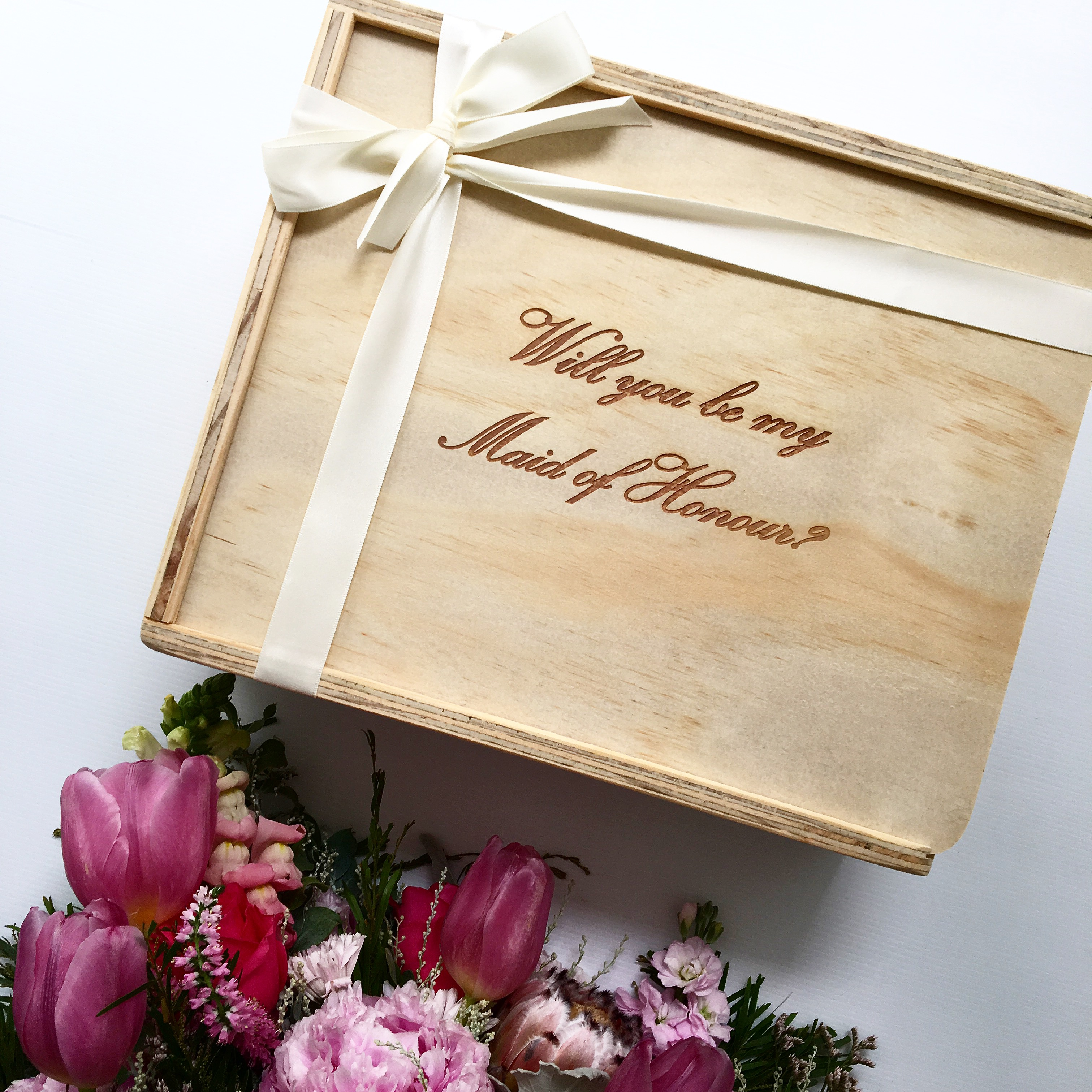 Gift Ideas Housekeeper: Will You Be My Maid Of Honour Gift Box