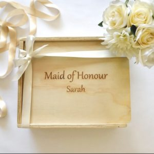 maid of honour gift hamper