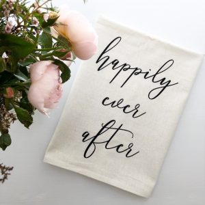 Wedding Tea Towel