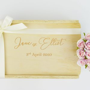 happy couple custom gift box