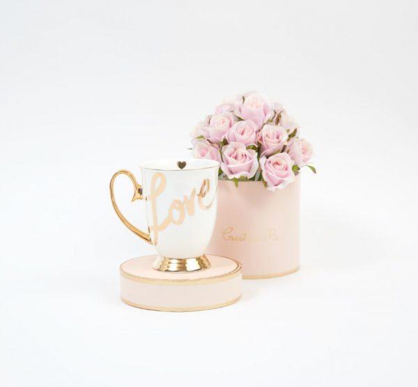 cristina re bone china love mug