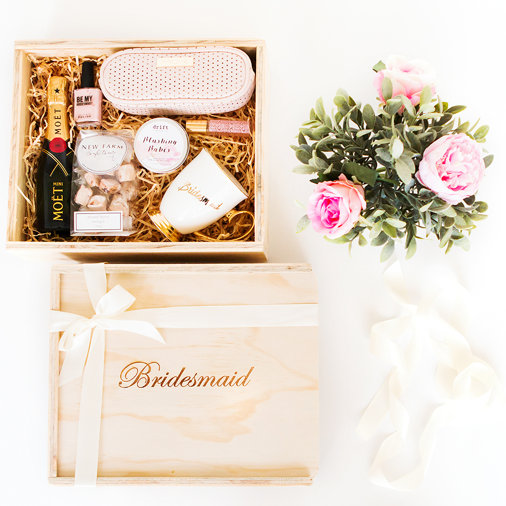 Bridesmaid Gift Box Filled