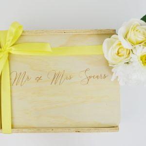 custom engraved gift box