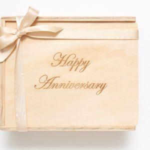 Custom engraved gift box
