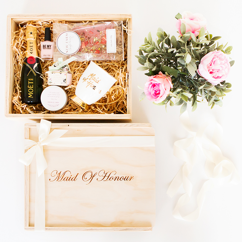 Maid Of Honour Gift Box Filled