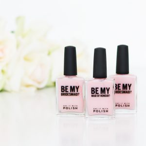 bridesmaid proposal nail polishes
