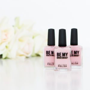 be my bridesmaid nail polish