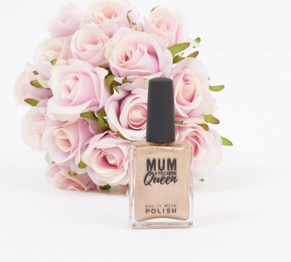 nail polish mum