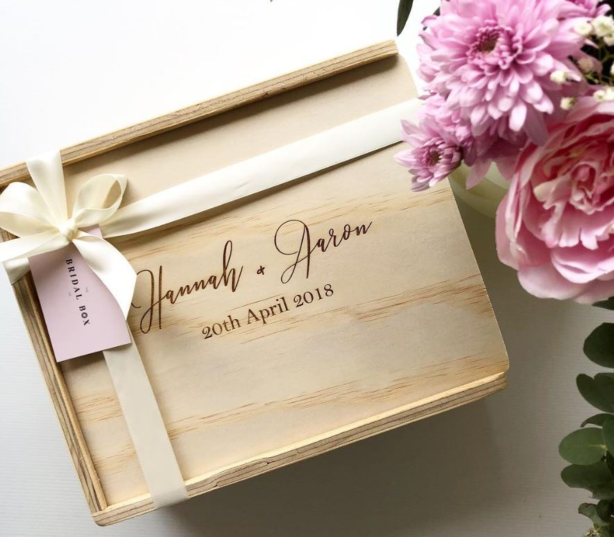 Happy Couple - Hamper The Bridal Box Co - Bridal Party Gift Boxes