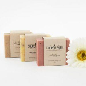 hand made botanical soaps
