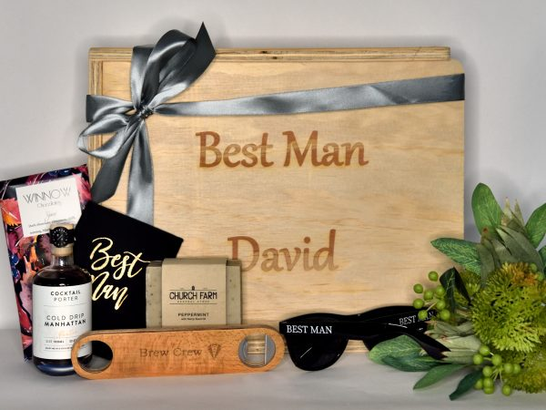 best man hamper