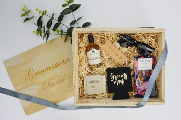 groomsman gift hamper