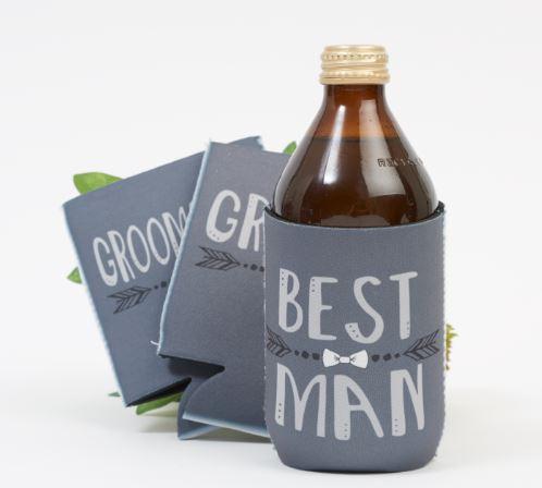 Best man stubby cooler