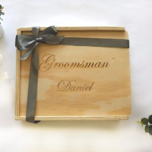 groomsman gift keepsake giftbox