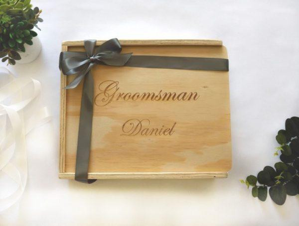 groomsman gift keepsake giftbox