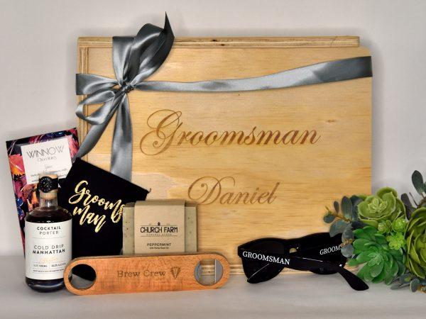 Groomsman gift hampers