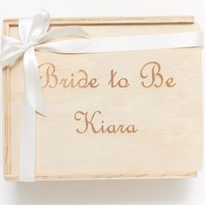 Bride to Be custom engraved