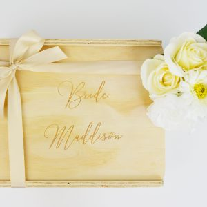 bride custom engraved