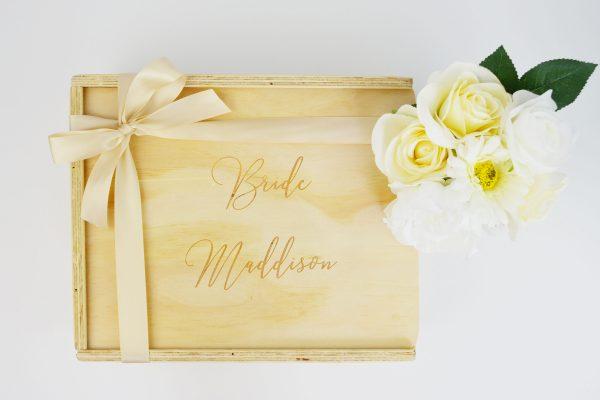 bride custom engraved