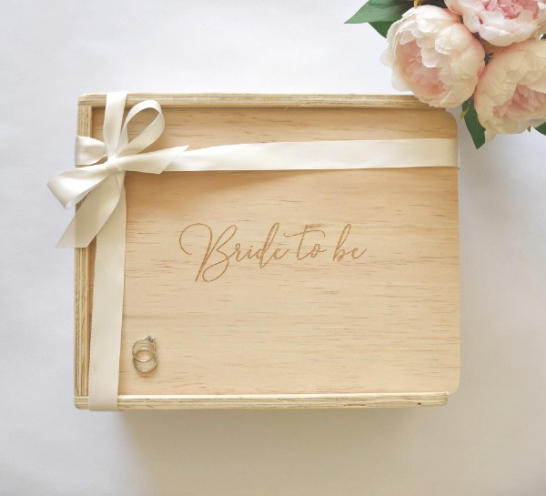 bride to be gift box