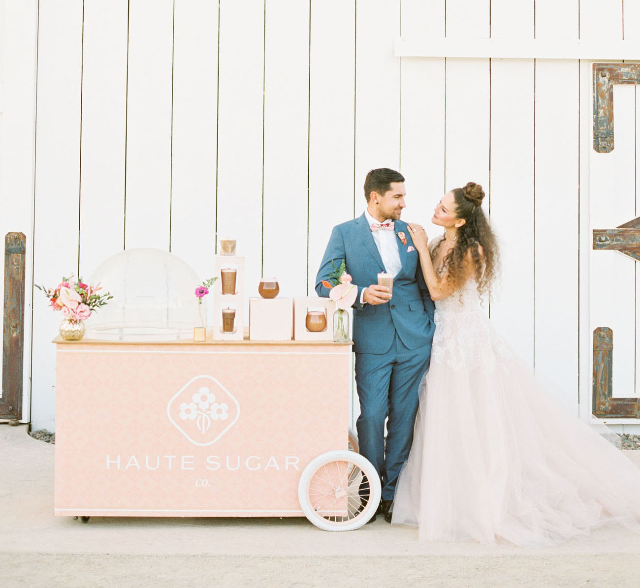 coffee cart for wedding