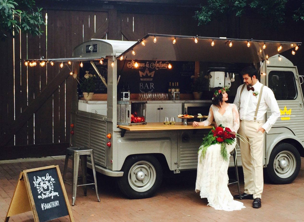 food truck wedding alternative catering options