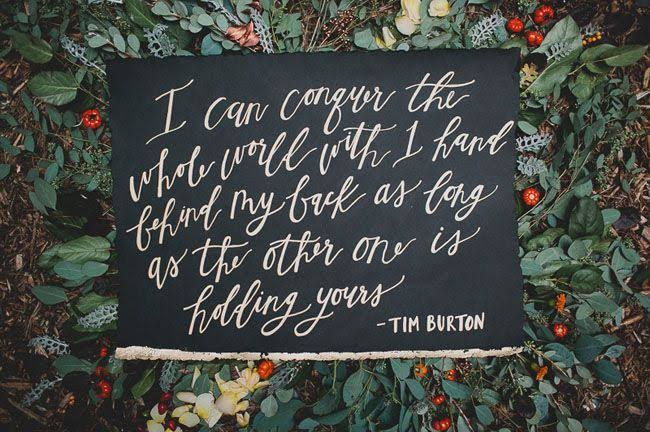 tim burton wedding quote halloween
