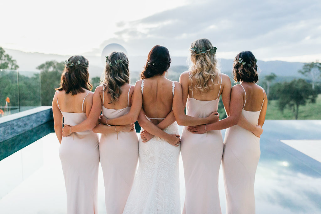 bridesmaids squad goals wedding inspiration poorinda