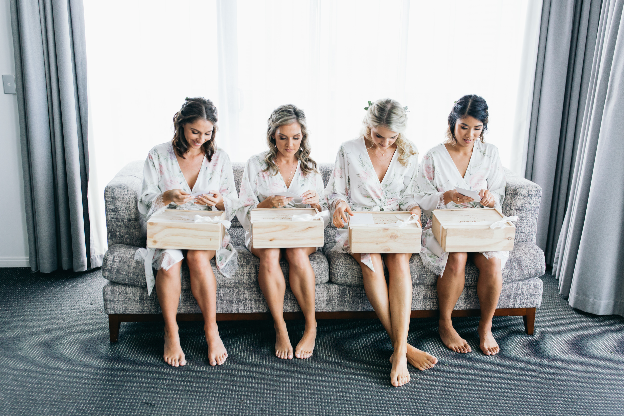 Bridal party gifts bridesmaid proposals