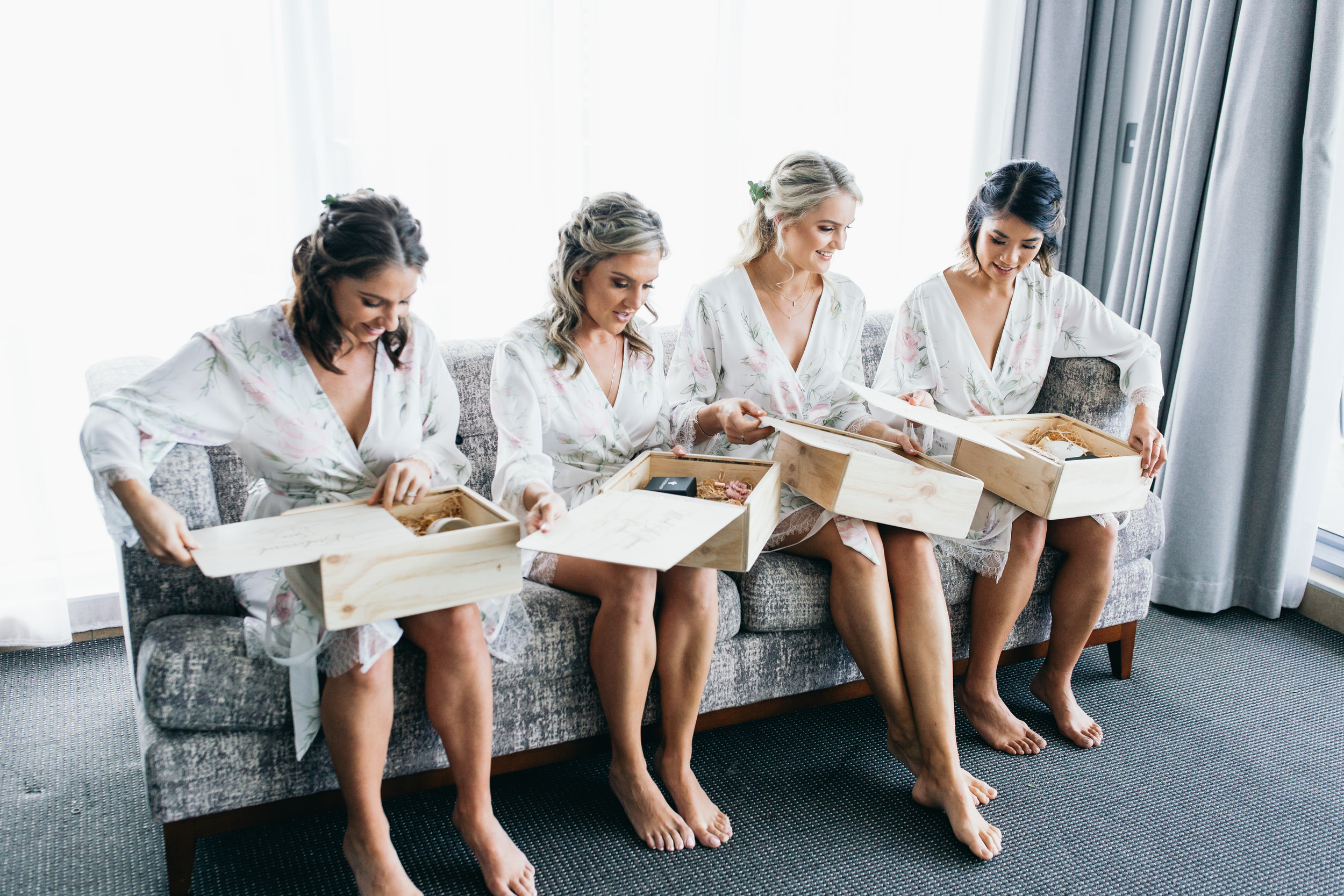 Gifts for the bridal party bridesmaid gifts