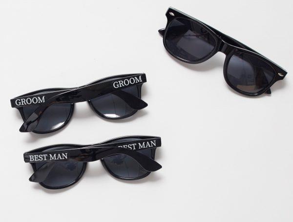 groom best man groomsman sunglasses