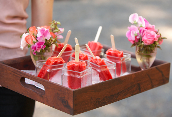 wedding iceblocks
