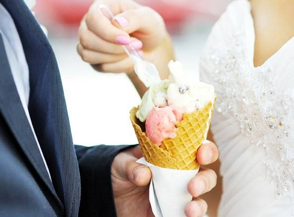 wedding icecream
