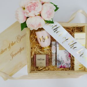 mother of the bride hamper