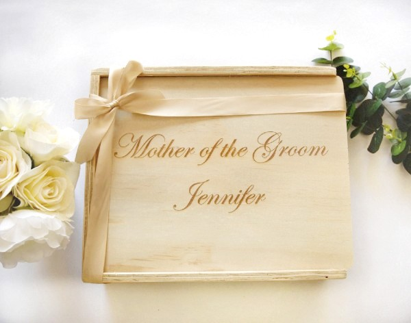 Mother of the bride mother of the groom gift box