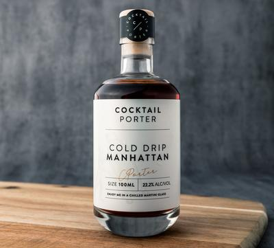mini cold drip manhattan