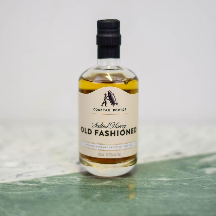 mini salted honey old fashioned