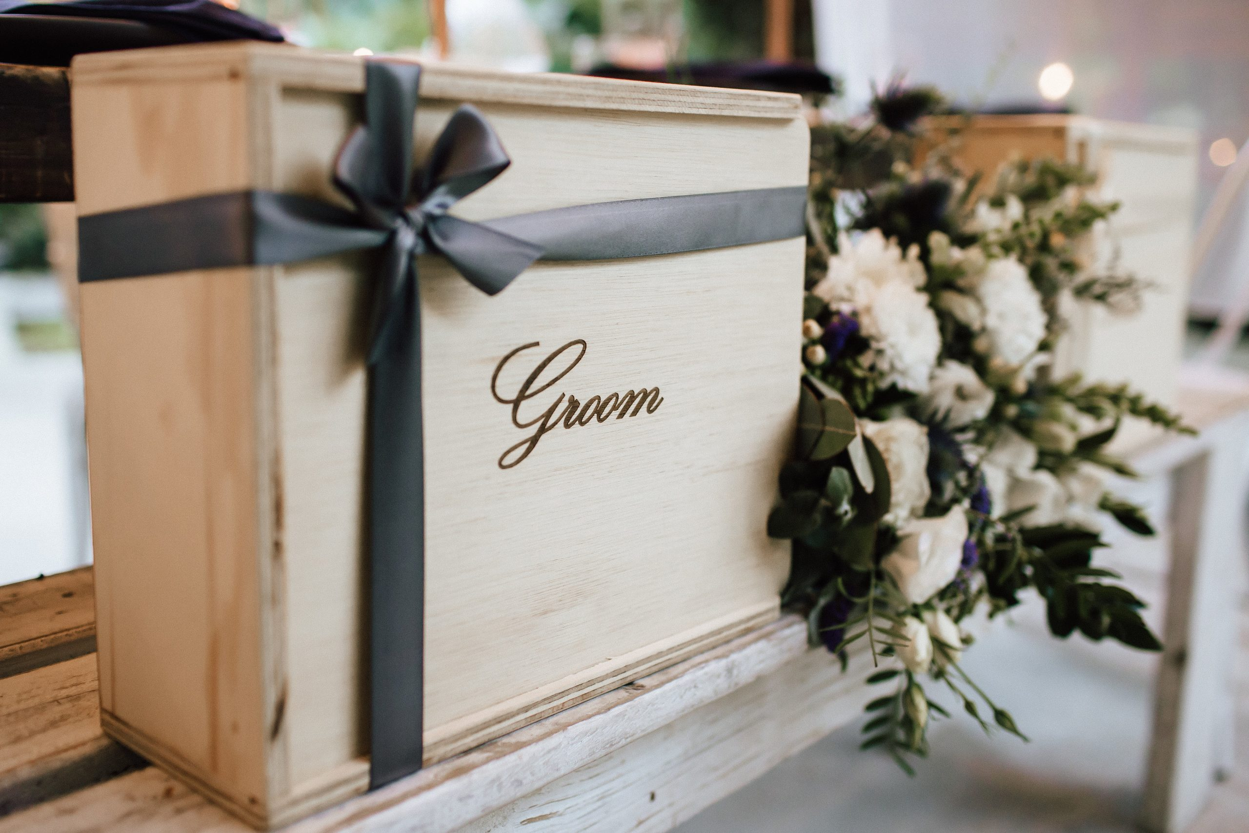 groomgift box from The Bridal Box